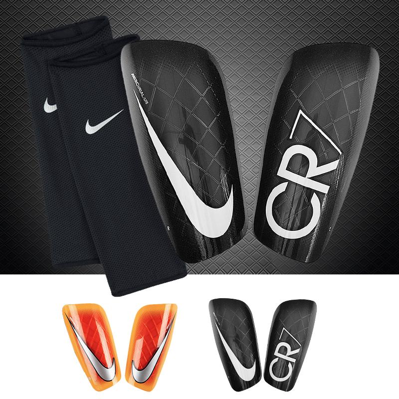nike耐克护腿板正品 Mercurial Lite刺客CR7足球比赛插板带袜套