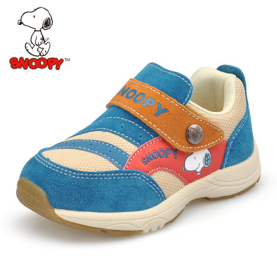 New children's health functioning models fall shoes Snoopy baby toddler shoes soft bottom and outside the prevention flatfoot eight