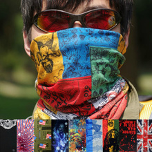 Three 8.8 yuan magic scarf sunscreen dustproof uv outdoor face towel scarf mask outdoor cycling equipment