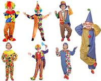 万圣节cos化妆舞台表演演出服装服饰装扮 儿童小丑服装衣服套装