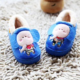 Men and women shoes high-top shoes children baby elephant bag with warm home cotton slippers cotton slippers Children