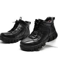 冬季加绒棉鞋男真皮厚底男士棉皮鞋高帮运动休闲保暖男鞋防滑鞋子