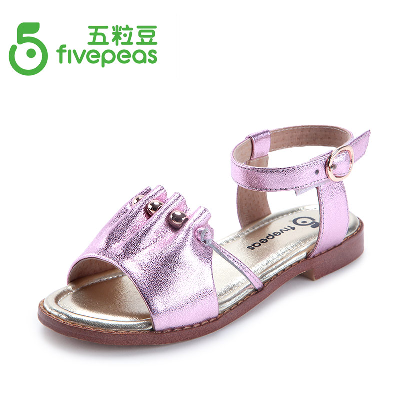 2015 New arrival Children princess shoes genuine leather shoes