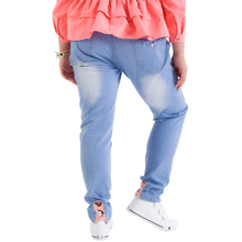 Spring 12 fat girls jeans 13 big yards long 14 fertilizer 15 to 16 children's leisure trousers Korea 17 year old girl