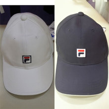 Fila Fashion Baseball Hat Original 2014 年 New Model Korean Wave of Men and Women Sun 29431201-WT-NV