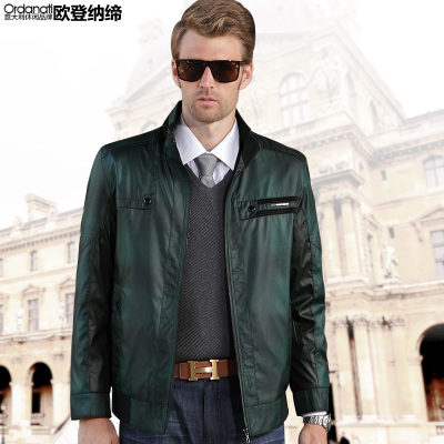 Oudeng Na association 2014 spring new authentic middle-aged men's business casual jacket collar jacket men jackets