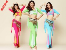 Tide tide ya ya Belly dance training suit Belly dance qiu dong outfit The new uniforms costumes
