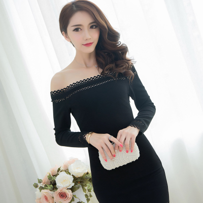 Sexy dress Woman 2016 Female cotton Off Shoulder clothing