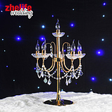 Zhe life wedding Iron Candlestick new wedding supplies furnished reception table decor props Decoration