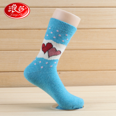 Langsha women in tube socks female thick wool socks, wool socks female thick warm winter thick wool socks