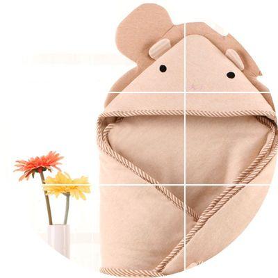 有机彩棉新生婴儿抱被毯子纯棉初生儿宝宝包被襁褓春秋冬季款加厚