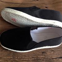 全棉布底鞋纯手工千层底布鞋女鞋黑色老北京布鞋男女开车鞋孕妇鞋