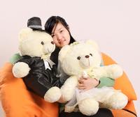 情人节泰迪熊公仔布娃娃毛绒玩具熊大号生日礼物女抱抱熊包邮