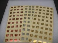 香港结婚用品批发贴请柬喜贴糖果盒封口信封透明小喜字利是封贴纸