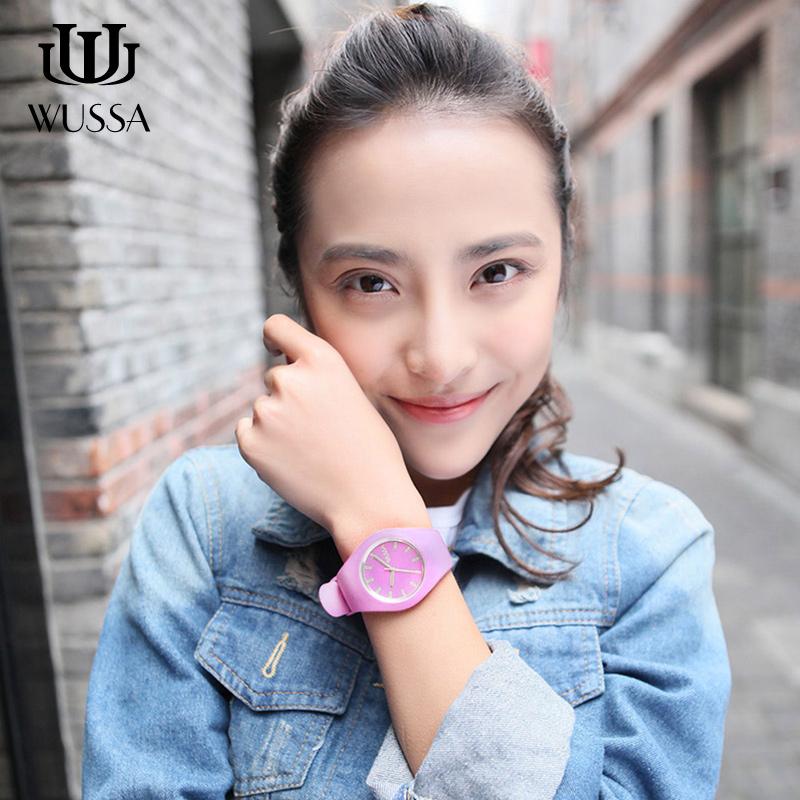 WUSSA· 果冻手表