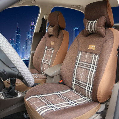 Vios Excelle old and new Jetta Bora Boluo Lang Yi Corolla Carnival thicker fabrics imitation special car seat covers