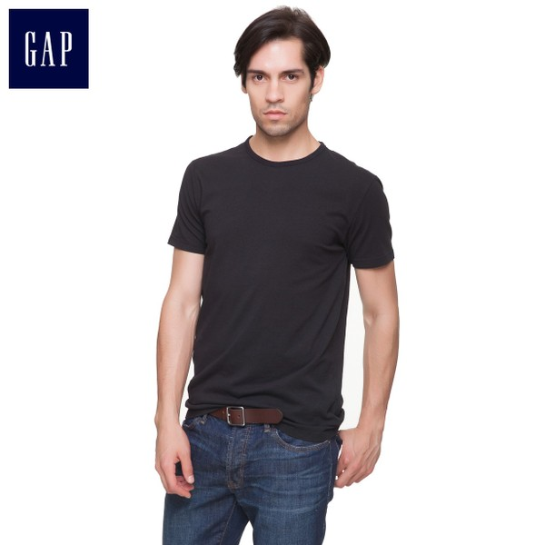 Gap essential basic models classic solid color T-shirt | Men's 988687