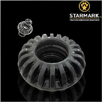 American star recorded STARMARK dogs dog bite resistant tires molar cake toy dog ??toys molar tooth cleaning snacks