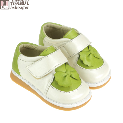 Kaci Ge children soft-soled leather baby shoes toddler shoes, baby shoes, and women's shoes Spring 1-2 years old Jiao Jiao shoes