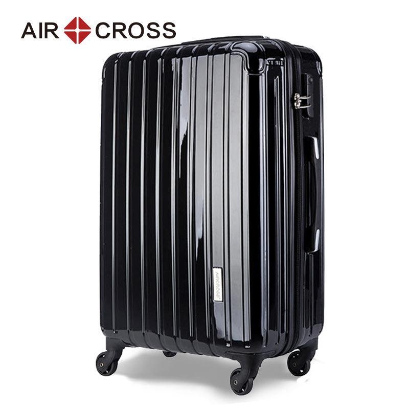 Aircross拉杆箱万向轮镜面旅行箱男时尚行李箱女登机箱20/24/26寸图片