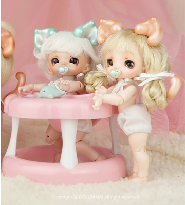 dollpamm BEBE Kitty Parts 1/8 BJD SD娃娃 8分小娃 doll