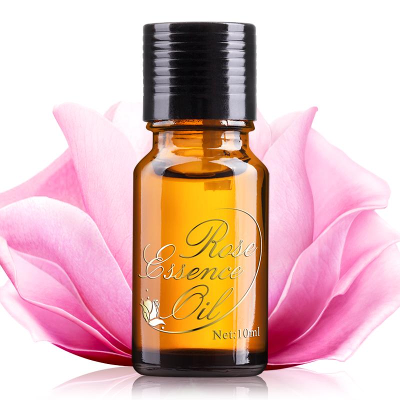 汉芳 玫瑰单方精油10ml 美白淡斑补水保湿芳疗正品保加利亚护肤