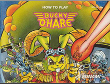 NES fc game card moonwalker Manual instruction in English Bucky O 'Hare Manual