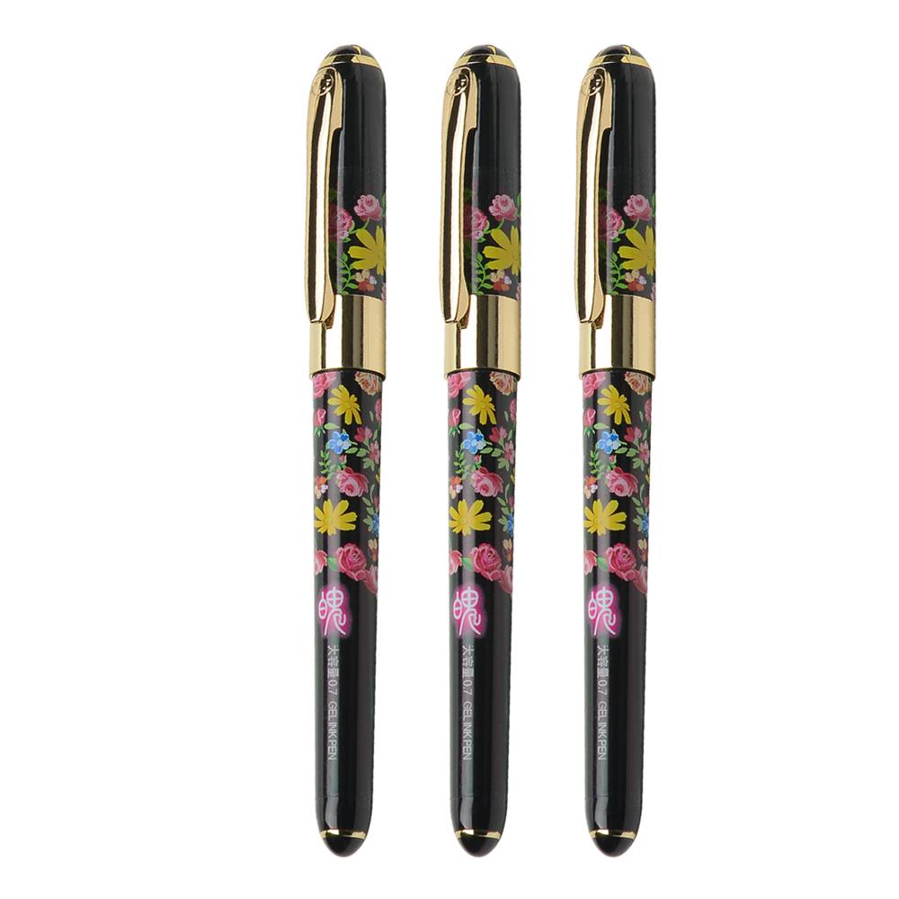 金万年大容量中性笔 0.7mm签字笔 水性笔  大容量水笔 G-1299C