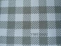 新款高档格子棉麻编织沙发巾布料宽幅窗帘面料抱枕套可零剪批发