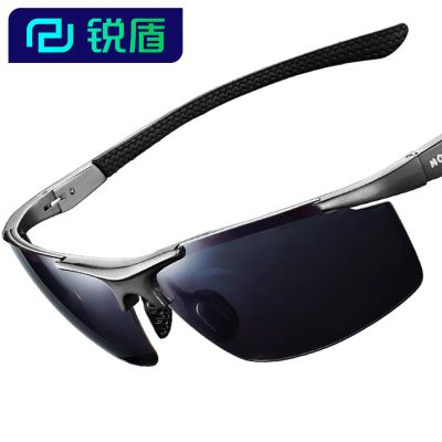 Rui thick shield Polaroid sunglasses men sunglasses polarized lens glasses big car driver mirror yanjing