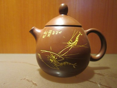 Qinzhou nixing pottery clay pottery gift teapot is 80 cm