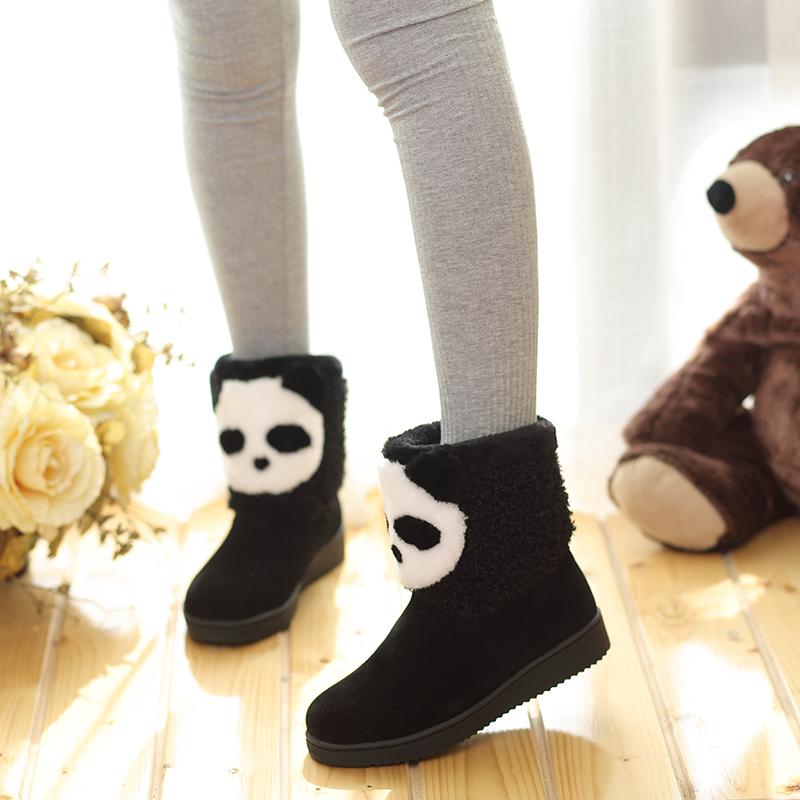 2016冬季新款儿童雪地靴女童靴子中大童短靴学生加绒棉靴小孩冬靴