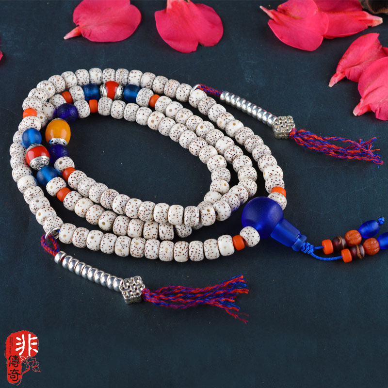 高密正月星月108念珠 手链 项链 原创设计xl007