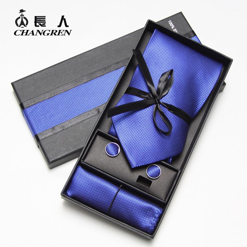 包邮 新郎领带 正装领带 男士领带男 正装商务领带 结婚领带 盒装
