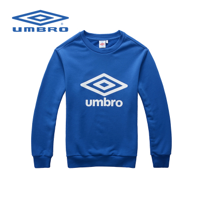 Umbro authentic sports cotton round neck sweater men fall and winter sports sports pullover sweater blazer