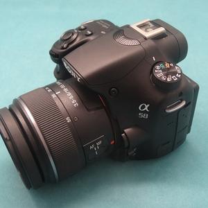 索尼sony SLT-A58 套机 95新柜台样机 单电数码单反相机 特价包邮