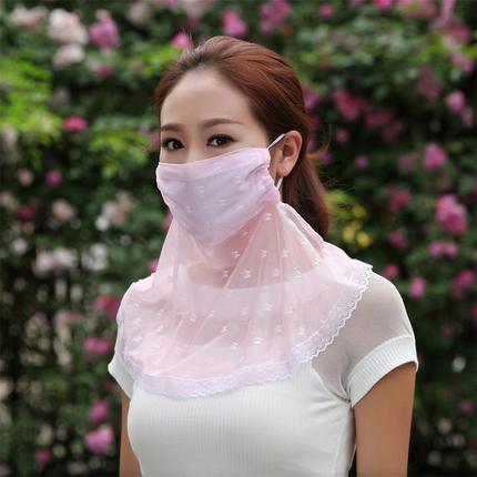 超大护颈防晒口罩