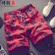 夏季短裤男士迷彩五分裤子青年中裤潮流男装夏天