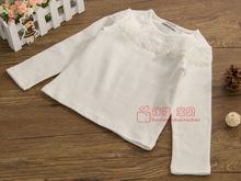 South Korean brand children's clothing perimitz long sleeve cotton T-shirt of the girls N20 long-sleeved top 2015 spring model