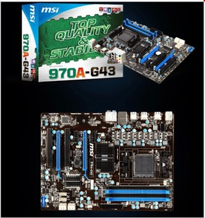 MSI MSI 970A-G43 all-solid-state perfect our 8350 8300 32,808 core does not set explicit