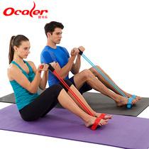 脚蹬拉力器仰卧起坐男女拉力弹力绳多功能健身训练运动器材家用