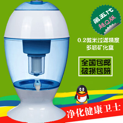 Panda Springs 19 liters of household net direct drinking water filter kettle cups water filter kettle pot mineralization mineral pot Specials