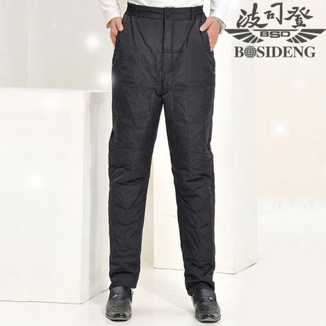 波司登羽绒裤男士外穿中老年新款内胆高腰加厚内穿老年人羽绒棉裤商品大图