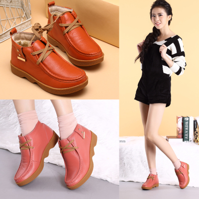 RIIID winter shoes really Piga velvet padded shoes with flat cotton short boots female minimalist round O'Connell RD3251071