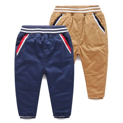 Kids winter 2014 baby boy trousers trousers Korean casual pants thick quilted trousers children tide