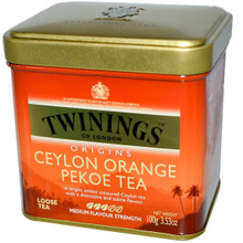 The spot sale Twinings chuan ning Ceylon tea 100 g canned orange pekoe tea imported from the United States