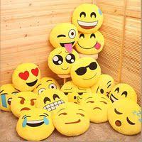 毛绒玩具创意QQ表情手暖抱枕公仔坐垫emoji表情抱枕 暖手捂婚庆