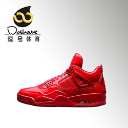 逗号体育 Air Jordan 11 Lab4 Red AJ4 全红漆皮 719864-600