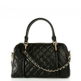 [ Poly ] Charles & amp; amp; Keith female lozenge portable shoulder chain practical large bag CK2-60741000