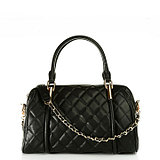 [4.6 fold] Charles & amp; amp; Keith female lozenge portable shoulder chain practical large bag CK2-60741000